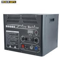Moka sfx fábrica atualizado 4 latas titular fase chama máquina grande dmx chama projetor atirar 6m com sensor de segurança|Efeito de Iluminação de palco| |  -