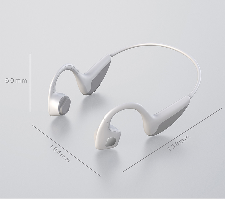 Wireless Headphones Bone Conduction Bluetooth Headset Z10 Smart Bluetooth 5.0 Sweatproof Outdoor Sport Earphone With Microphone