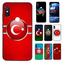 FHNBLJ L'azerbaïdjan buta drapeau Téléphone Coque de protection pour Xiaomi Redmi 5 5Plus 6 6A 4X 7 7A 8 8A 9 Note 5 5A 6 7 8 8Pro 8T 9