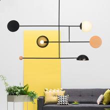 Креативный красочный подвесной светильник в скандинавском стиле