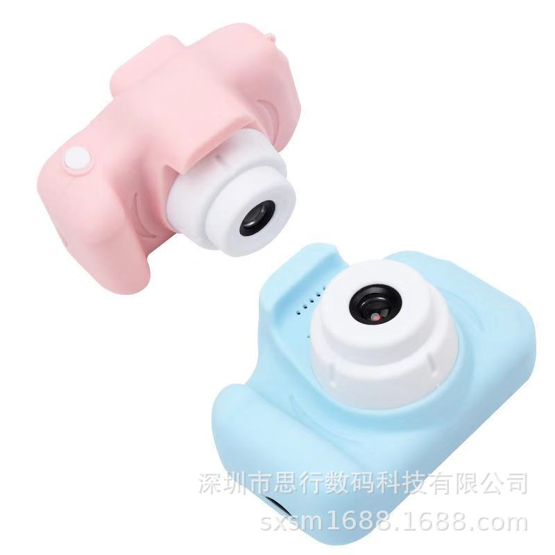 Children's Camera Waterproof 1080P HD Screen Camera Video Toy 8 Megapixel Kid Cartoon Cute Camera Outdoor Photography Kid Gift