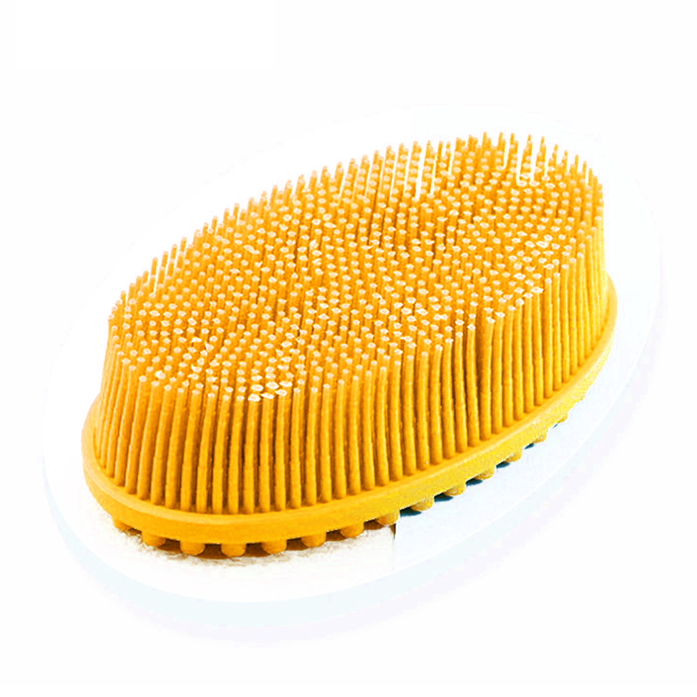 Bath Bathroom Silicone Bubbles Soft Exfoliating Puff Body Brush Head Massage Baby Shower Scrubber Scalp Shampoo Home