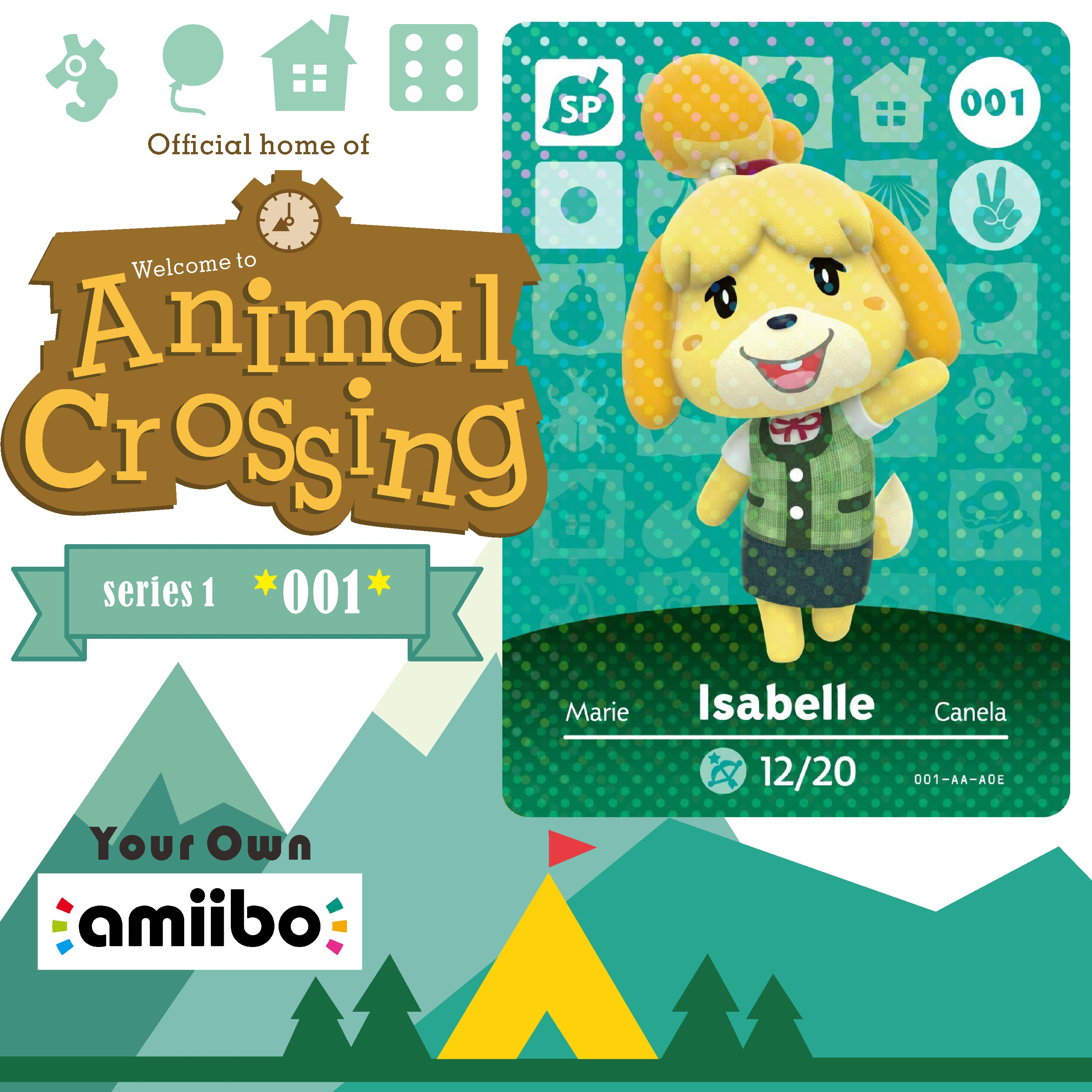 Welcome Amiibo Card Cards Animal Crossing Isabelle Isabel Animal Crossing Amiibo Card Series 1 Amino Cards for Animal Crossing 2