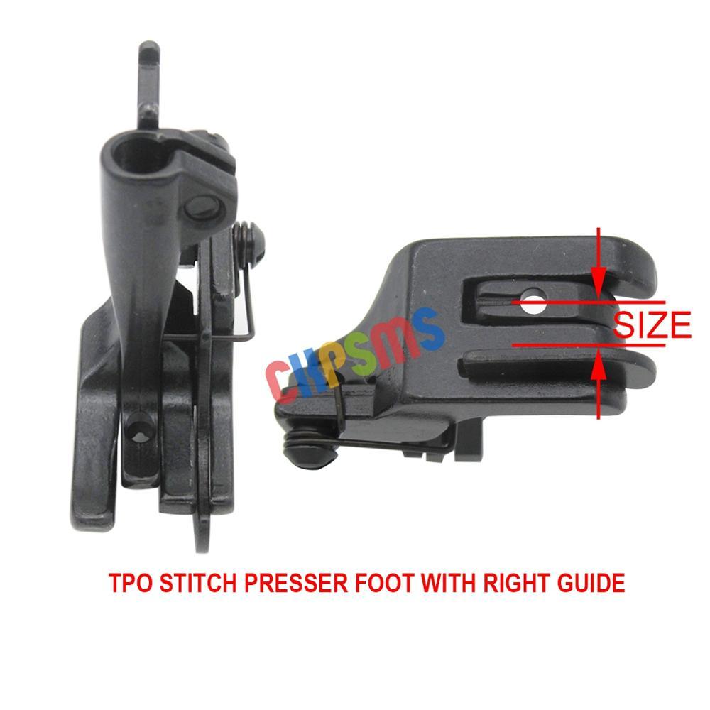 6SET #KP-WF6-2 Walking Presser Feet Fit For JUKI CONSEW SINGER BROTHER WALKING FOOT INDUSTRIAL SEWING MACHINE
