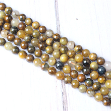 Peter Stone Natural Stone Beads For Jewelry Making Diy Bracelet Necklace 4/6/8/10/12 mm Wholesale Strand