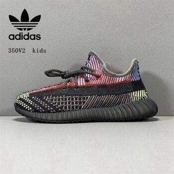 Adidas Yeezy boost 350V2-Zapatos para correr, para niños, 28-35 FX0777