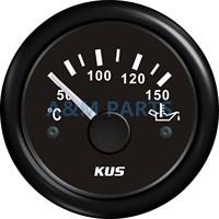 Medidor de temperatura de aceite de Motor KUS  medidor de temperatura de aceite de Motor marino 50-150 52mm