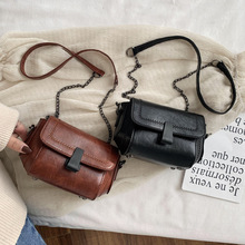 Woman Vintage Crossbody Bag Fashionable Ladies All-match Sma