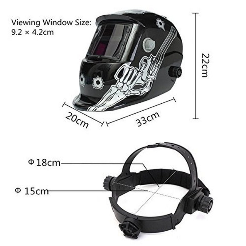 Cap Welding Helmet Big Welding Mask Solar Lens Welding Darkening Electric Machine Welding For Screen Welder Auto