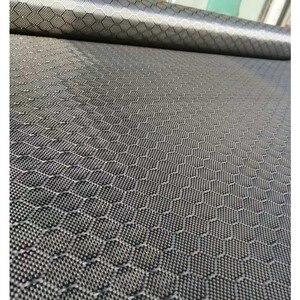 """Image 2 - Tissu en Fiber de carbone véritable, motif de Football, 3K 240gsm, 32 """" / 82cm de large, tissu Hexagonal en nid dabeille, livraison gratuite"""