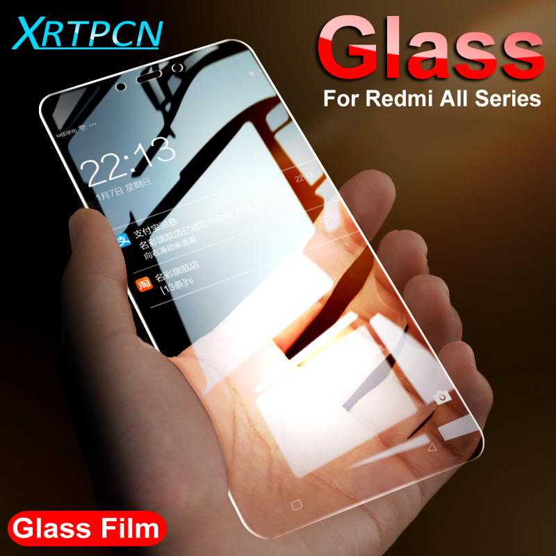 9H Protective Glass For Xiaomi Redmi 4A 4X Note 4 4X 5 5A Tempered Screen Protector Glass On The Redmi 6 6A Note 6 Pro Film