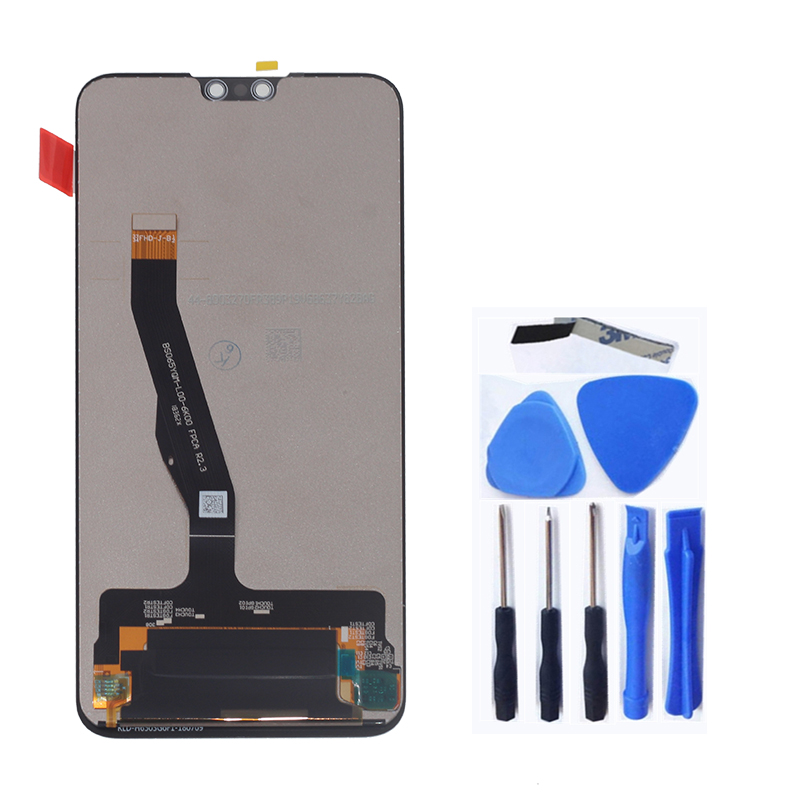 Image 2 - Original display with frame For Huawei Y9 2019 LCD touch screen digitizer assembly for Y9 2019 JKM LX1 LX2 LX3 lcd repair parts-in Mobile Phone LCD Screens from Cellphones & Telecommunications
