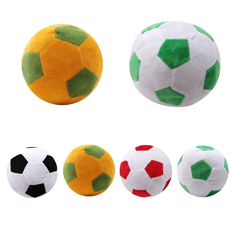 Soccer Ball Pillow Stuffed Fluffy Plush Baby Soccer Ball Soft Durable B