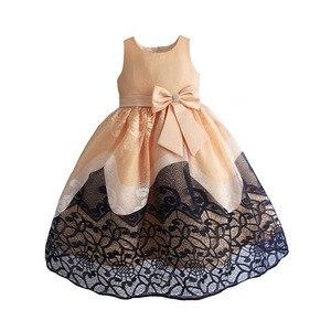Image 5 - فستان حفلات رائع للبنات مطرز بالدانتيل فساتين زفاف للأطفال فستان سهرة رسمي للأطفال ملابس للبنات 3 10T
