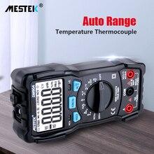 MESTEK DM90A מיני Multimeters הדיגיטלי מודד אוטומטי טווח Tester Multimetre 6000 ספירות עם טמפרטורת בדיקה Multitester