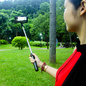 Image 5 - Lewinner tudo em 1 sem fio bluetooth selfie vara mini tripé extensível monopod universal para iphone, android