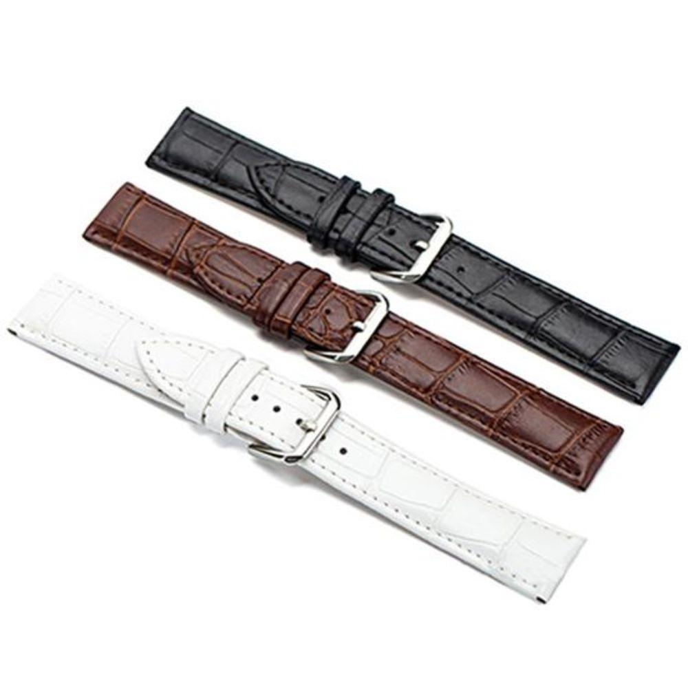 Leather Watch Strap Universal Replacement Leather Watchband For Men Women 16mm 18mm 20mm 22mm Watch Strap Band Christmas Gift