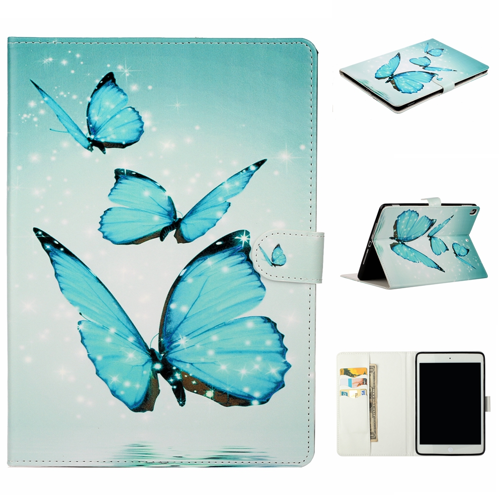 Case Red Case For iPad 10 2 inch 2019 Stand Auto Sleep Smart Folio PU Leather Cover For