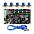 Детали для 3d принтера MKS Gen V1.4 плата управления Mega 2560 R3 Материнская плата RepRap Ramps1.4 + TMC2100/TMC2130/TMC2208/DRV8825 драйвер