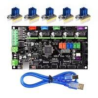 3D Printer Bagian MKS Gen V1.4 Papan Kontrol Mega 2560 R3 Papan Utama RepRap Ramps1.4 + TMC2100/TMC2130/TMC2208 /DRV8825 Driver
