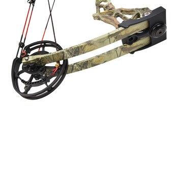 KAIMEI 270 Archery 40-60lbs Compound Bow 310FPS Arrow Steel Ball Dual Purpose Bow 80% Labor Saving Ratio For Hunting Shooting 4