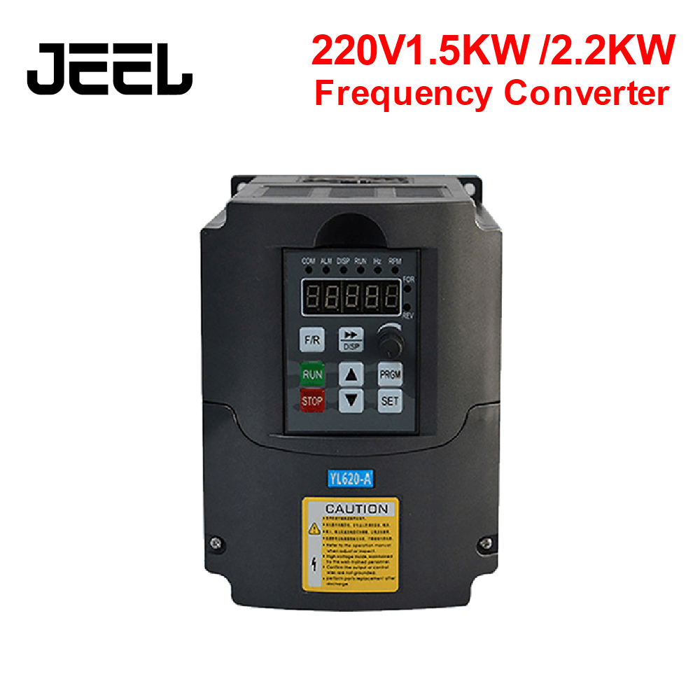 1.5KW/2.2KW 220V Single Phase Input Frequency Inverter Phase Output Mini Frequency Drive Converter V8 Series