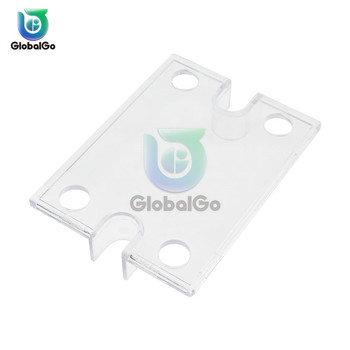 цена на 2pcs/Lot Solid State Relay SSR Plastic Cover For DC control Single Phase Solid State Relay Safe Shell Case Box Front Cover