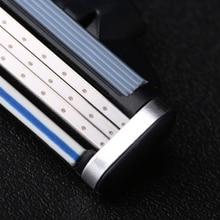 Razor-Blades Mache for 8pcs/Lot Face-Care Compatible Men