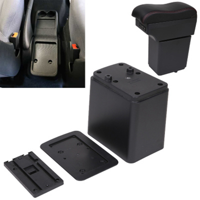 لسيتروين بيرلينجو مسند الذراع صندوق بيجو شريك اكسسوارات السيارات الأصلي صندوق اليد طبقة مزدوجة قابلة للشحن