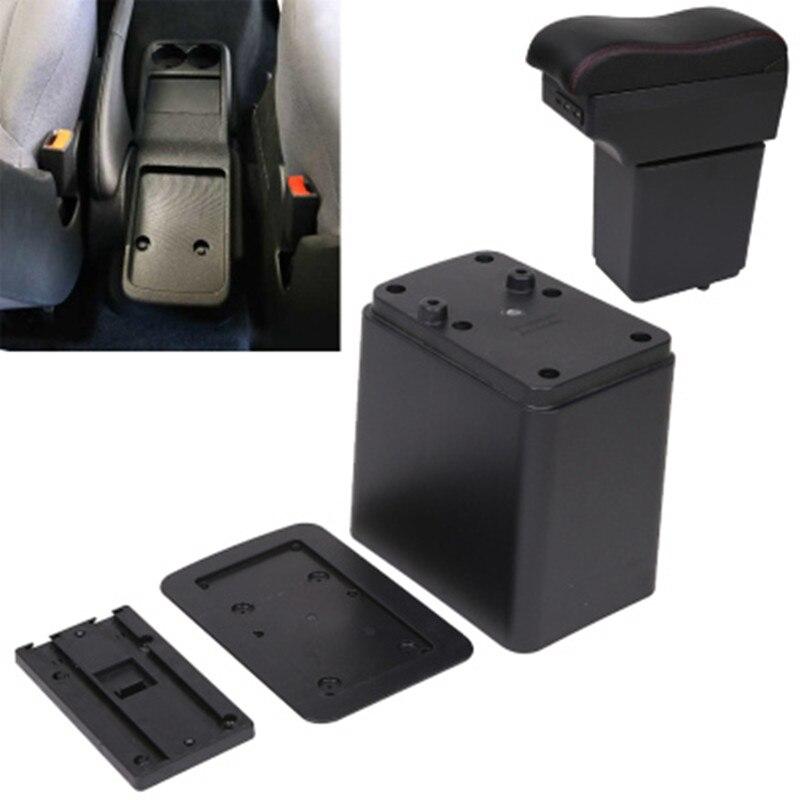 Citroen Berlingo için kol dayama kutusu Peugeot partner araba aksesuarları orijinal el kutusu çift katmanlı şarj edilebilir