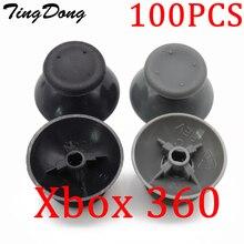 100 قطعة/الوحدة التناظرية غطاء ثلاثية الأبعاد الإبهام العصي المقود Thumbstick الفطر غطاء تغليف ل مايكروسوفت Xbox 360 XBOX360 تحكم