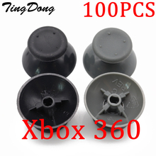 100pcs/lot Analog Cover 3D Thumb Sticks Joystick Thumbstick Mushroom Cap Cover For Microsoft Xbox 360 XBOX360 Controller