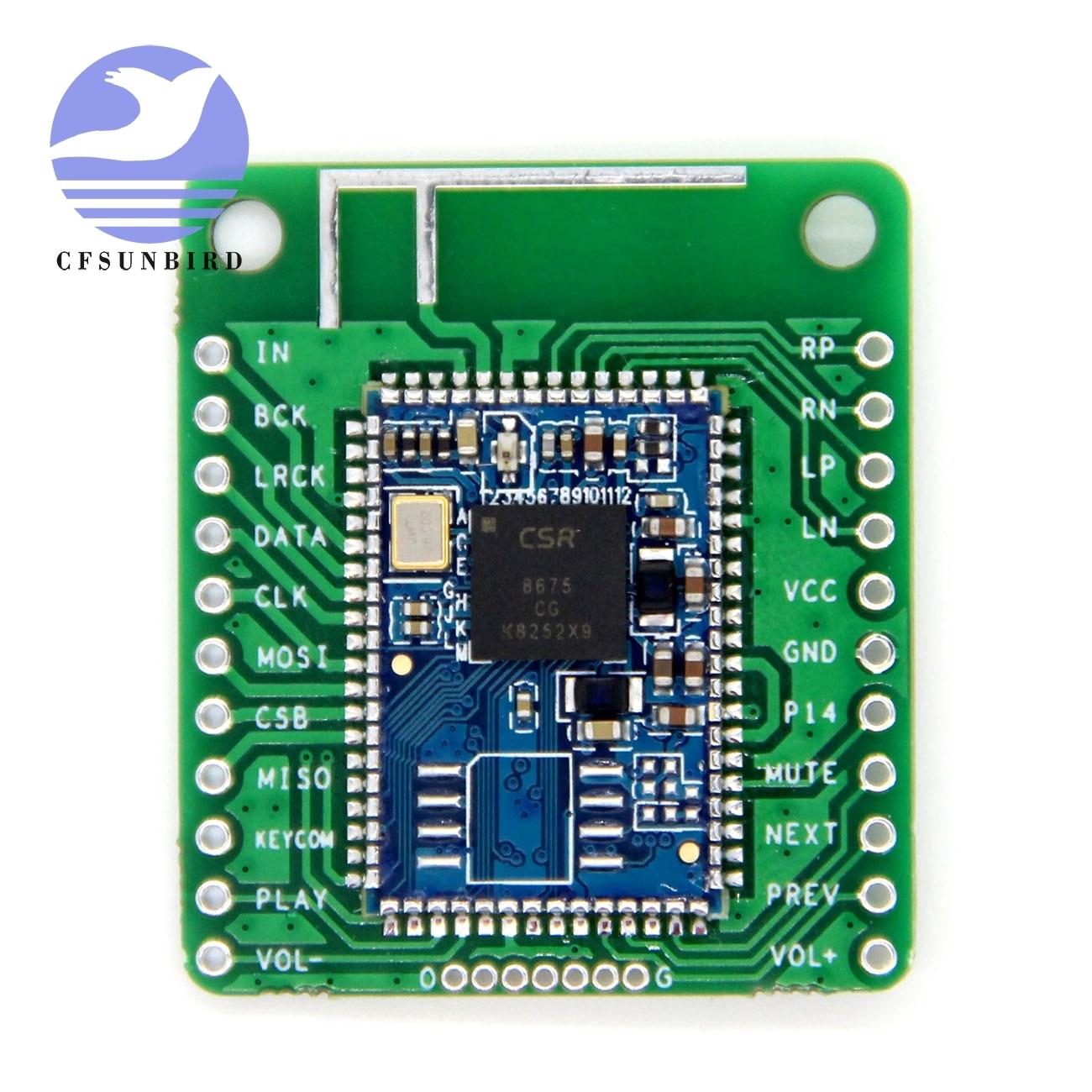 Image 2 - CSR8675 Bluetooth V5.0 Low Power Bluetooth Audio Module APTX HD Lossless Compression I2S Fiber SPDIFIntegrated Circuits   -