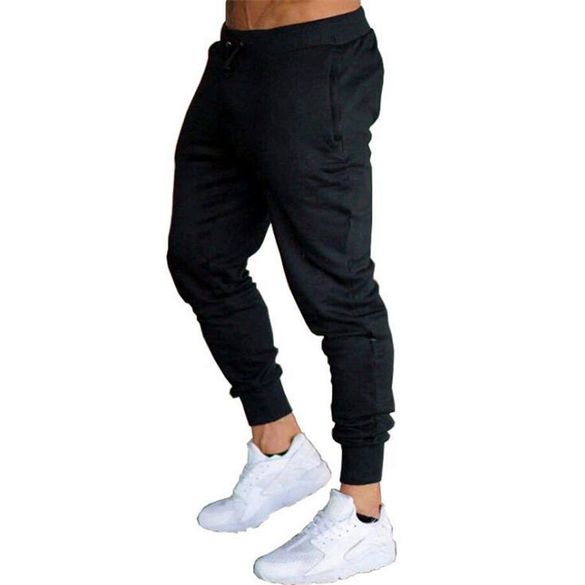 New Jogging Pants Men Sport Sweatpants Running Pants2020 Pants Men Joggers Cotton Trackpants Slim Fit Pants Bodybuilding Trouser
