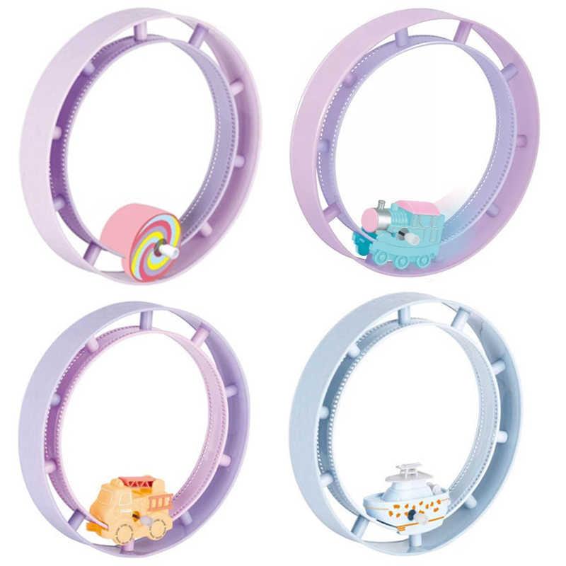 Brinquedos do carro da trilha do relógio do bebê brinquedos clockwork trem steamship trilha engenharia jogo do carro novidade círculo carro de corrida brinquedos presentes para o bebê