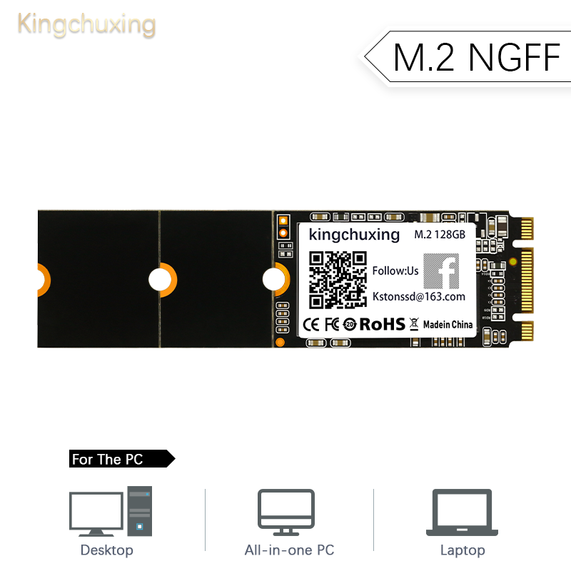 M.2 SSD Internal Solid State Drive M2 NGFF 2242 2260 2280 HDD Hard Drive Disk 64GB 128GB 256GB Kingchuxing For Laptop Notebook