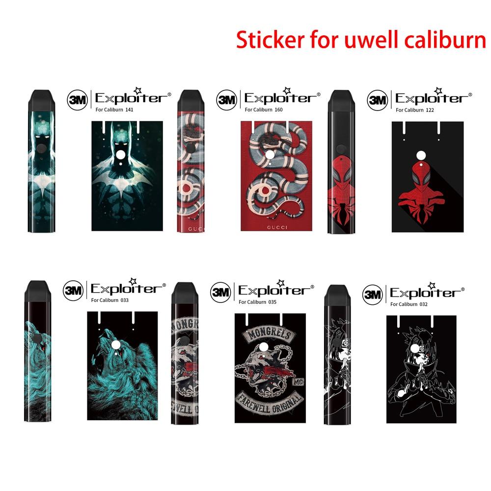 Magic Shark Skin Animal Case Cover Sticker Pod Full Body Sticker Wrap Skin Film Case For Uwell Caliburn