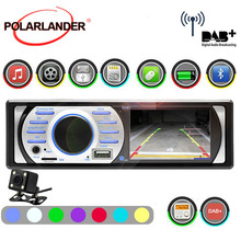 """1Din автомобильное радио DAB+ с камерой Авто аудио стерео 3,"""" HD MP5/WMA 12 В USB/TF/AUX in FM In-Dash интерфейс Bluetooth ISO контакт"""
