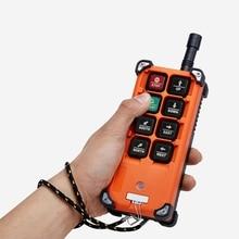 クレーンリモートコントロールtransmiter F21 E1B産業ワイヤレスラジオ 8 シングルスピードボタン送信機