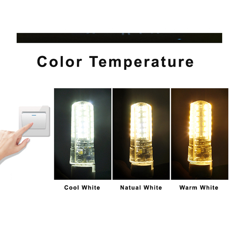 Купить с кэшбэком 10Pcs/Lot LED G4 Bulb AC/DC 12V/220V Mini Corn Bulb Replace Traditional of Halogen Bulb For Lighting Fixture Accessories Dynasty