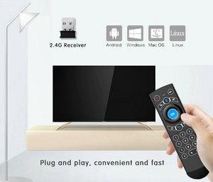Image 3 - G21 Pro 2.4G Voz Air Mouse IR Aprendizagem Assistente de Busca Por Voz do Google para Android Smart TV Box PK G10s g20s G30s Controle Remoto