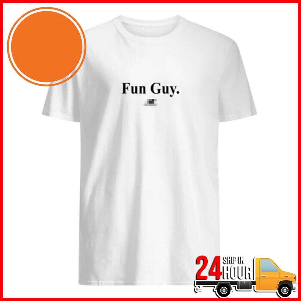 kawhi fun guy T-Shirt Black Cotton Men Size S-3XL
