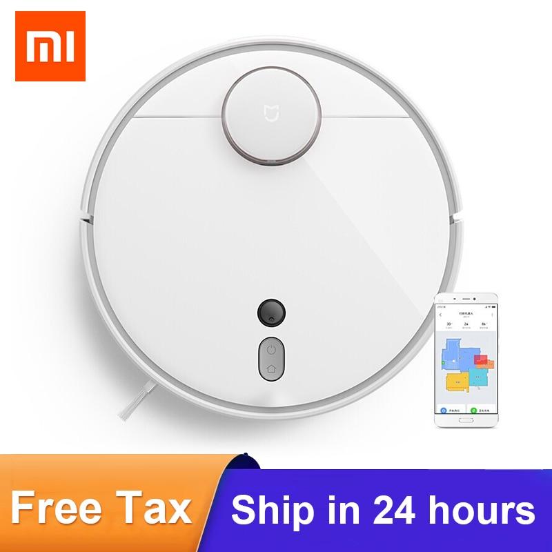 Робот-пылесос Xiaomi Mi 1S, умное планирование, Wi-Fi, управление через приложение