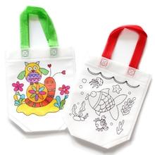 1шт дети рисунок игрушки поделки граффити сумка рука живопись раскраска материалы искусство поделки образование обучение игрушка для детей подарки