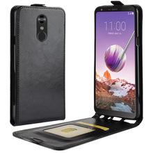 Suitable for LG K8 G7 Q stylo 4 Q7 X Power 3 imitation leather protection up and