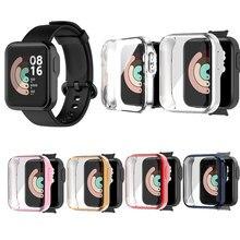 Coque pour Xiaomi Mi Wacth Lite Global Smart Watch, protection décran en TPU souple, accessoires