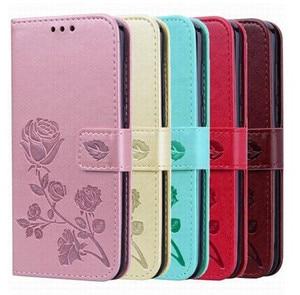 Cuero cartera Flip caso para Digma VOX S502 S502F S503 S504 S505 A10 Flash G450 S501 S502 3G 4G soporte de tarjetas de la cubierta del teléfono
