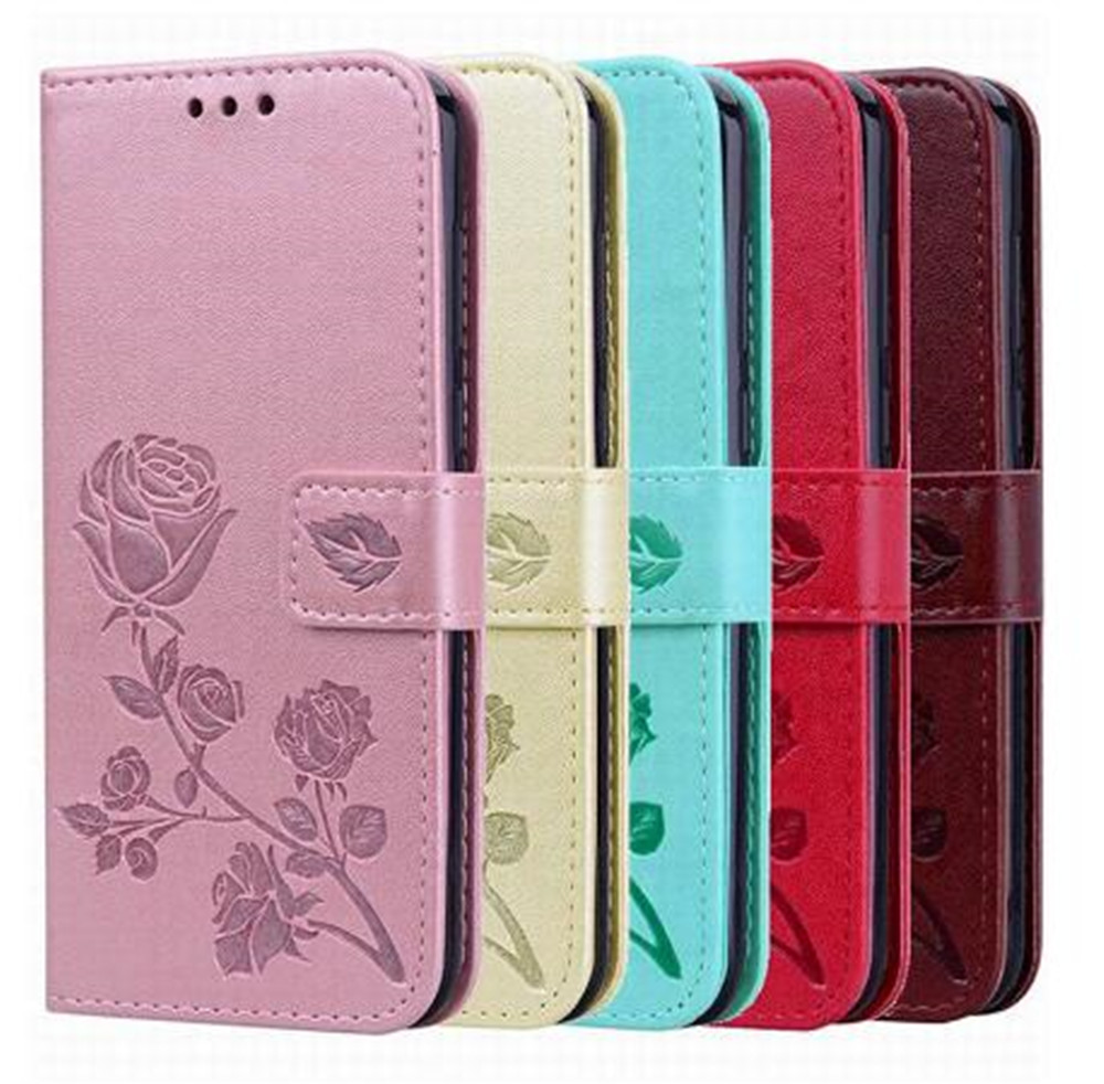 Leather Flip Wallet Case For Ginzzu S5230 RS95D S4030 S5050 S5001 S5002 S5021 S5220 Case Card Holder Stand Back Cover(China)