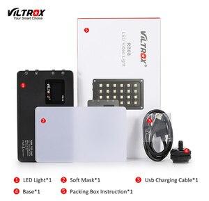Image 3 - Viltrox RB08 bicolore 2500 K 8500 K Mini lumière LED vidéo Portable lumière de remplissage batterie intégrée pour téléphone caméra prise de vue YouTube