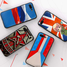 Russian Federation Flag Soft TPU Case For Apple iPhone X XR XS MAX 5 5S 5C SE 6 6S 7 8 Plus ipod touch 5 6 Silicone Case Cover(China)